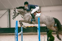Blom's Dora (Zirocco Blue VDL) and Wendy Scholten - 28 januari 2013